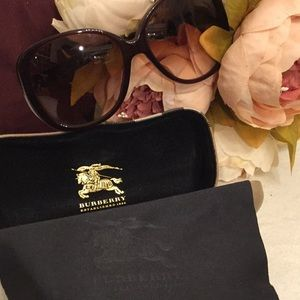 Authentic Burberry Oversize Sunglasses Case/ Cloth